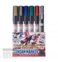Gundam Marker Set Metalizados CSI Creos