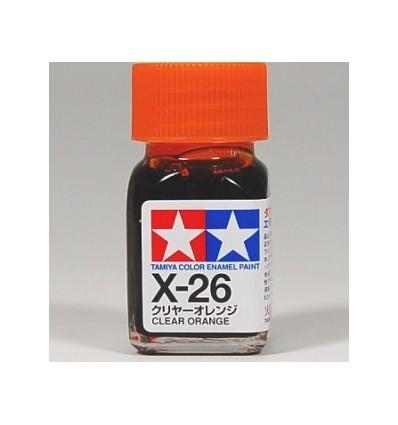 X-26 Clear Orange Enamel Tamiya
