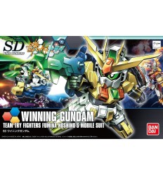 Winning gundam SD Bandai