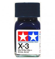 X-3 Royal Blue Enamel Tamiya