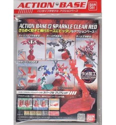 Action Base 2 Sparkle Red Bandai