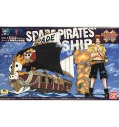 Spade Pirate GSC One piece Bandai