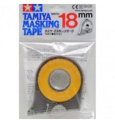 Masking Tape 18mm con dispensador Tamiya