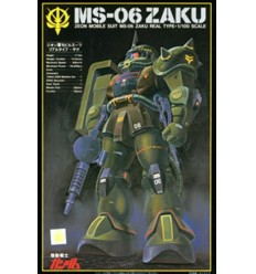 Zaku II Real Type MS-06 1/100 NG Bandai