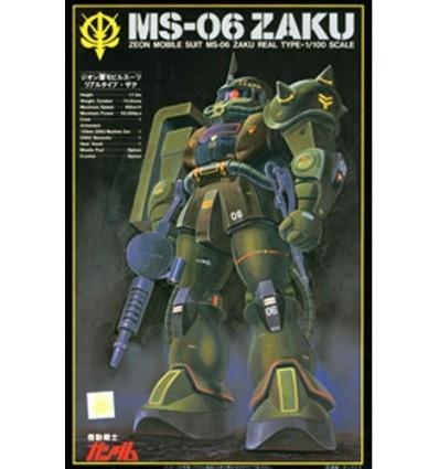 Zaku II Real Type MS-06 1/100 NG Bandai