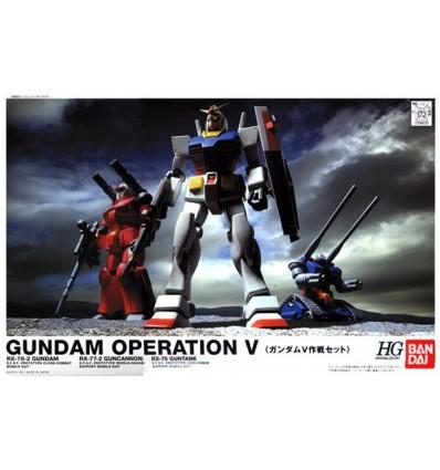 Set Gundam Operation V HGBandai