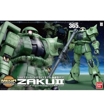 Zaku II Mega Size Bandai