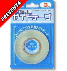 Dymo Transparente Carving Guide Tape 3mm
