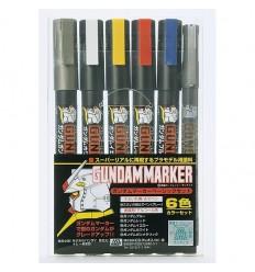 Gundam Marker Set basico