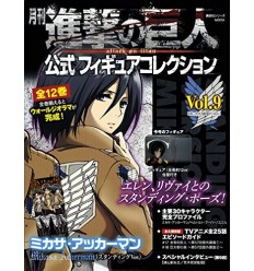 Mikasa Attack on Titan Official Figure Collection 9 Kodansha