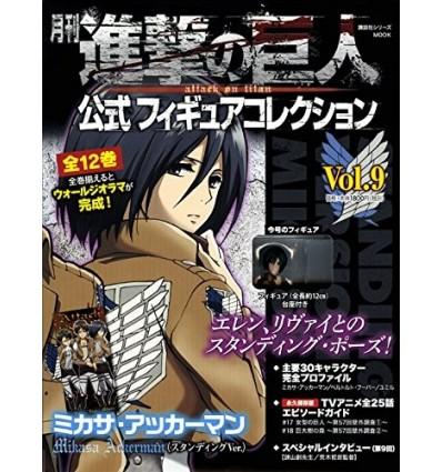 Mikasa Attack on Titan Official Figure Collection 9 Kodansha