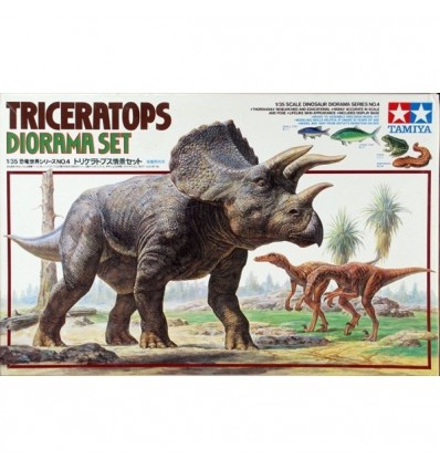 Triceratops Diorama Set 1/35 Tamiya