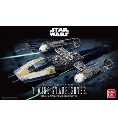 Y Wing Star Fighter 1/72 Bandai