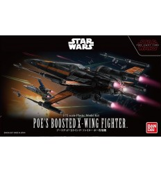 Poe's Boosted X-Wing Fighter 1/72 Bandai