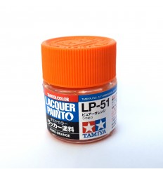 LP51 Pure Orange Lacquer Tamiya