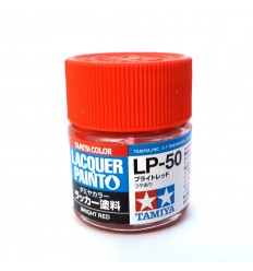 LP50 Bright Red Lacquer Tamiya