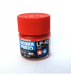 LP42 Mica Red Lacquer Tamiya