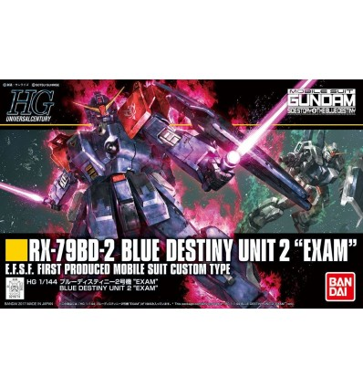 Blue Destiny Unit 2 Exam Ver HG Revive Bandai