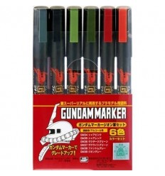 Gundam Marker Zeon Set CSI Creos