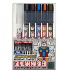 Gundam Marker Set Extra Fine CSI Creos