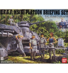 Platoon Briefing Set U.C. Hard Graph Bandai