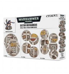 Sector Mechanicus Round Bases Citadel