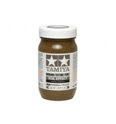 Texture Paint Soil Dark Earth 250ml Tamiya
