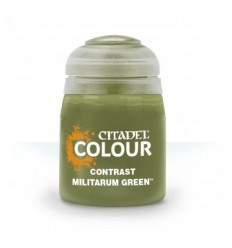 MILITARUM GREEN Contrast Citadel
