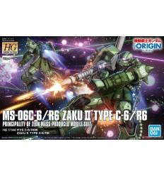 Zaku II Type C6-R6 HG Bandai