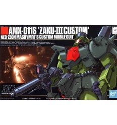 Zaku III Custom Type HG Bandai