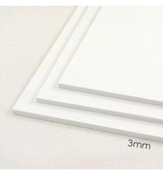 Set 3 laminas de PAI 2mm grosor