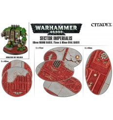 SECTOR IMPERIALIS Round - Oval Bases Citadel