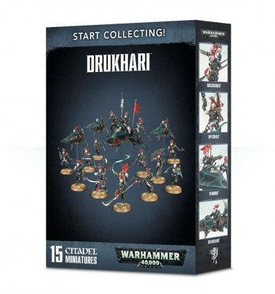 DRUKHARI KABALITE WARRIORS Citadel