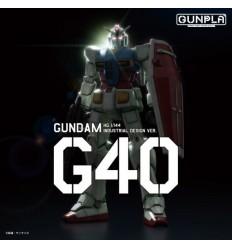 GUNDAM G40 Industrial Design Ver Bandai