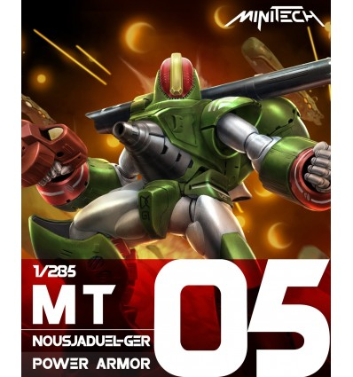 Nousjaduel-Ger Power Armor 1/285 Kids Logic