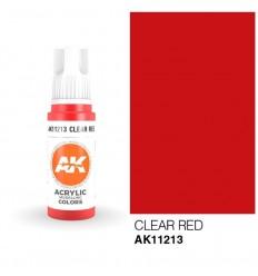 Clear Red AK Interactive