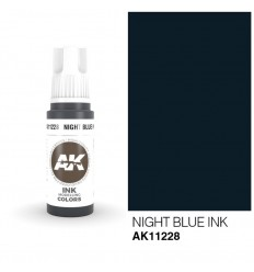 Night Blue INK AK Interactive