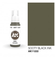 Sooty Black INK AK Interactive