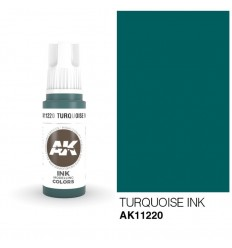 Turquoise INK AK Interactive