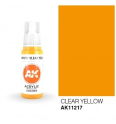 Clear Yellow AK Interactive