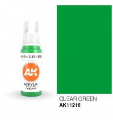 Clear Green AK Interactive